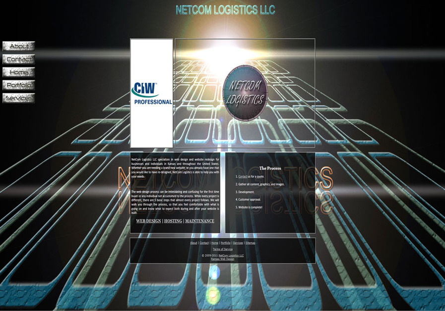 A great web design by NetCom Logistics LLC, Wichita, KS: