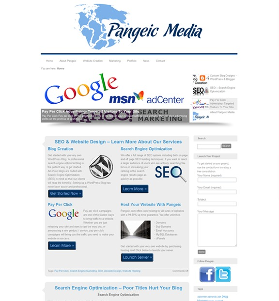 A great web design by Pangeic Media - Website Development & Marketing, New York, NY: