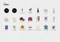 A great web design by loom, Paris, France: