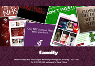 A great web design by Family Advertising Ltd, Edinburgh, United Kingdom: