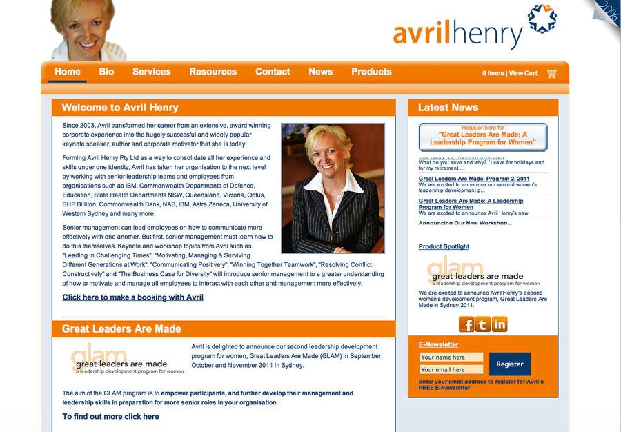 A great web design by jDynamic, Perth, Australia: