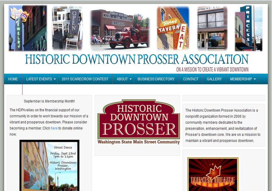 A great web design by Michelle Gustafson, Richland, WA: