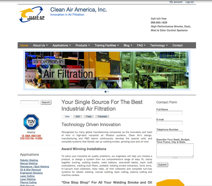 A great web design by MediaFirst PR - Atlanta, Atlanta, GA: