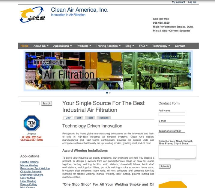 A great web design by MediaFirst PR - Atlanta, Atlanta, GA: