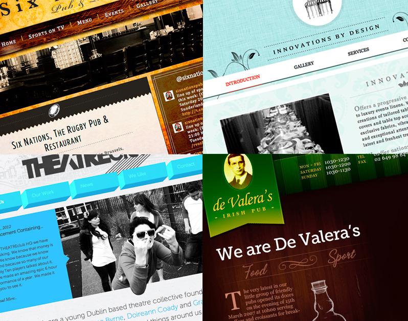 A great web design by Sean Cunningham, Dublin, Ireland: