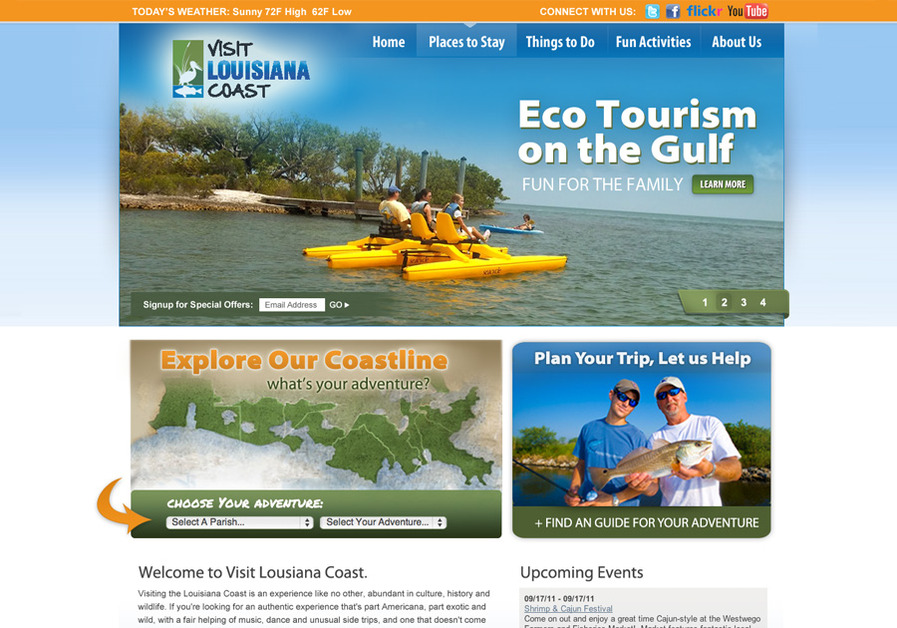 A great web design by Jason Vinner, Jacksonville, FL: