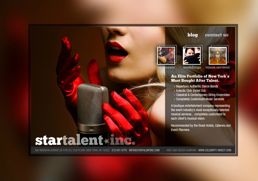 A great web design by Starving Artist Web Design, New York, NY: