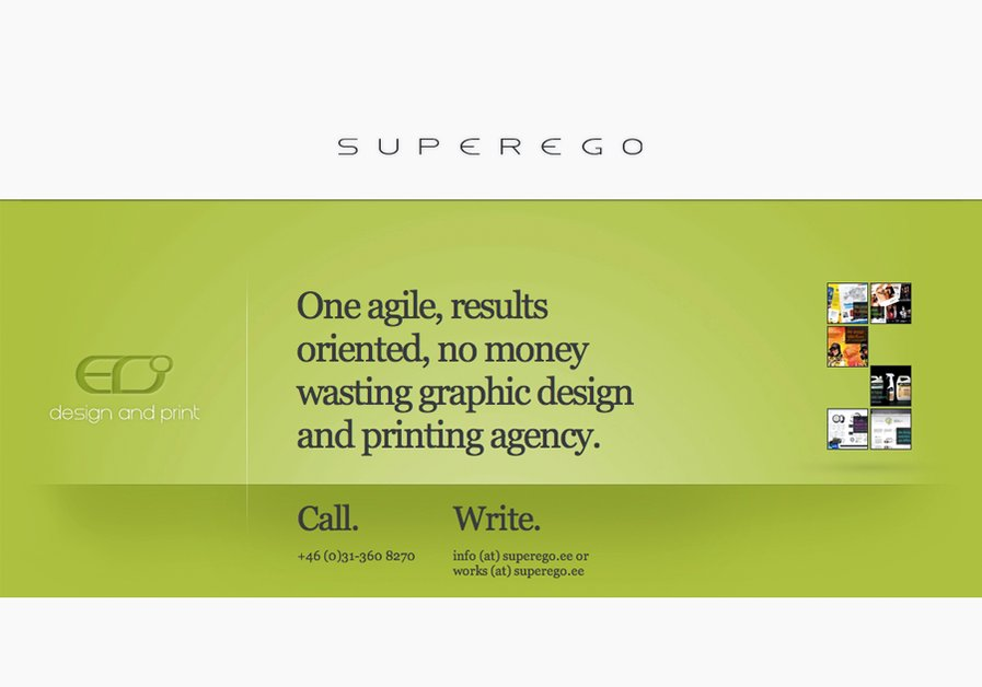 A great web design by Superego, Tallinn, Estonia: