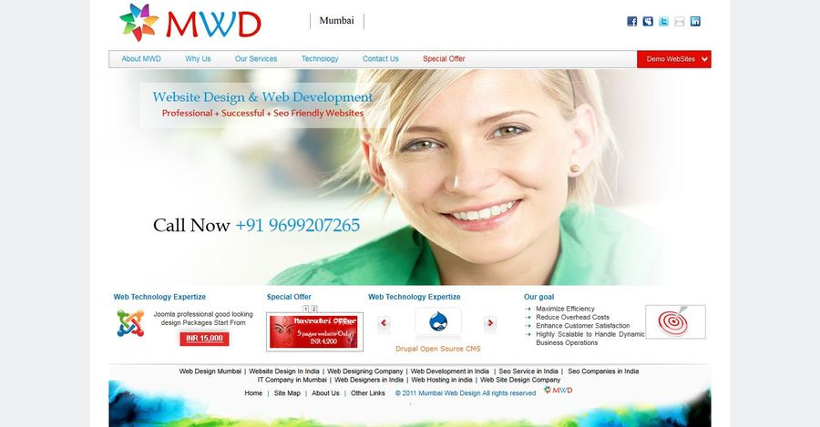 A great web design by Mumbai Web Design, Mumbai, India: