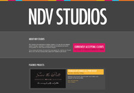 A great web design by NDV Studios, Winnipeg, Canada: