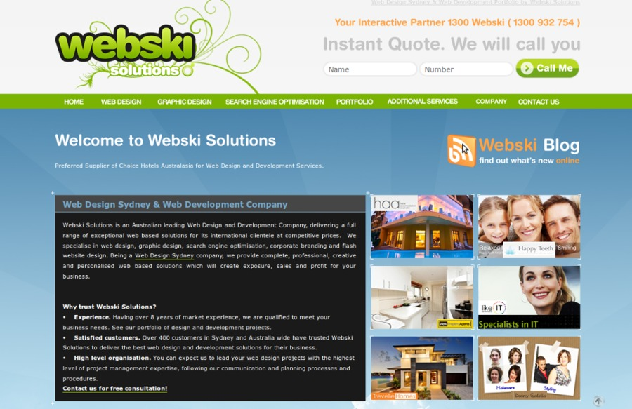 A great web design by Web Design Sydney - Webski, Sydney, Australia:
