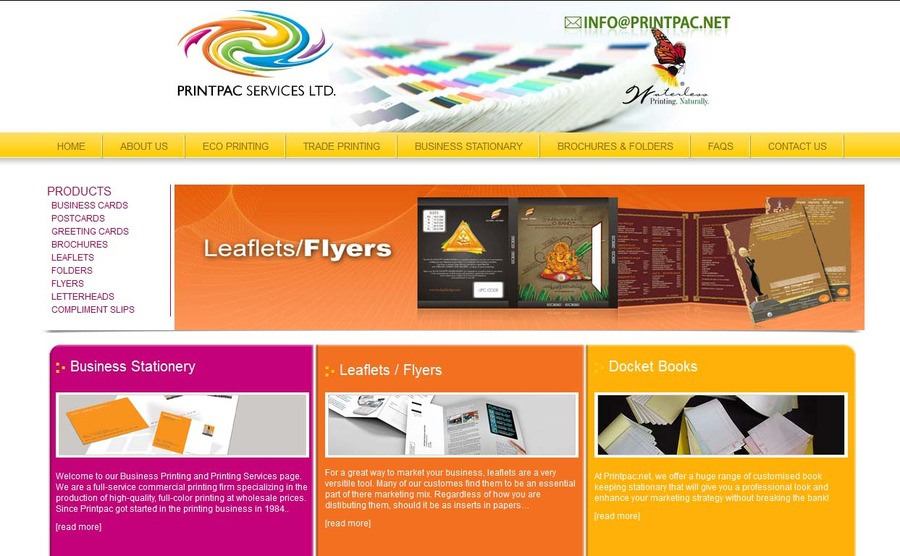 A great web design by CSW Technologies, Chandigarh, India: