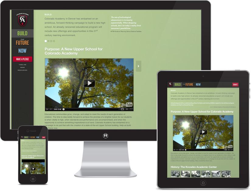 A great web design by Proper, Denver, CO: