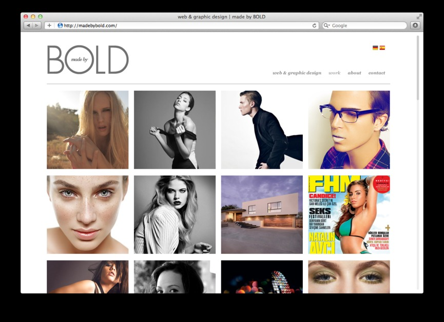A great web design by madebyBOLD, New York, NY: