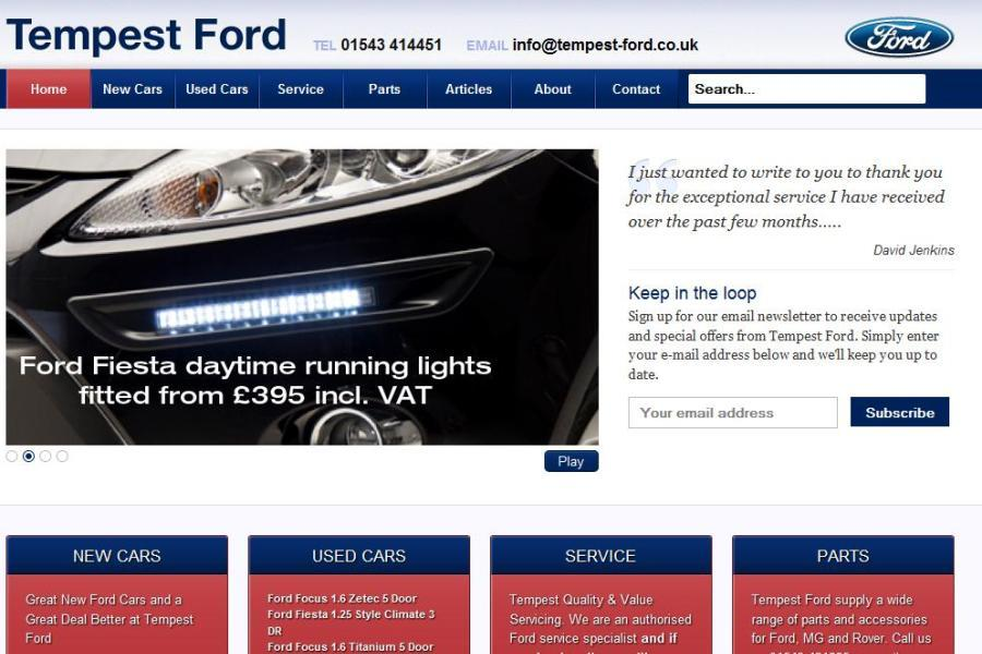 A great web design by Colebridge Communications, Birmingham, United Kingdom: