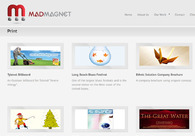 A great web design by Mad Magnet, Los Angeles, CA: