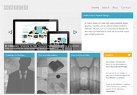 A great web design by Haeck Design, Raleigh, NC: Responsive Website, Internet , PHP
