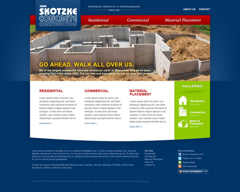 A great web design by Merge Creative, Appleton, WI: