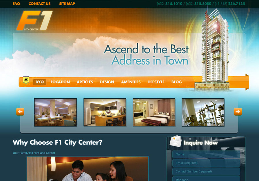 A great web design by 916 Dexignz, Manila, Philippines: