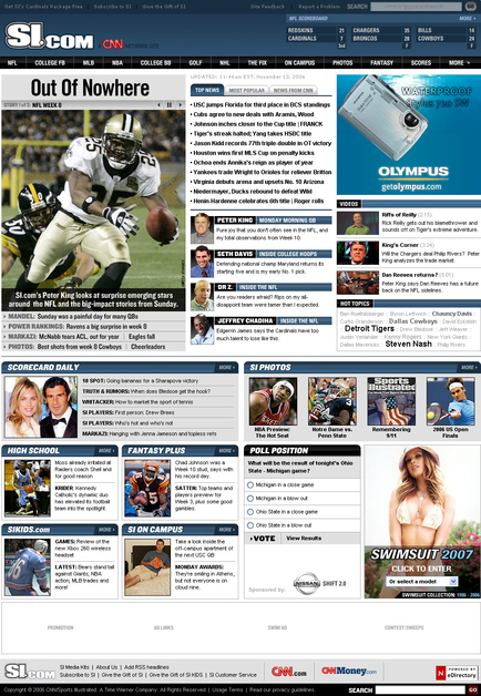 A great web design by Blake Perdue, Atlanta, GA: