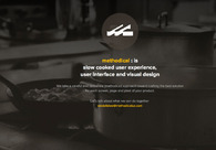 A great web design by methodical, San Francisco, CA: