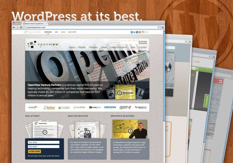 A great web design by kevinleary.net, Boston, MA: