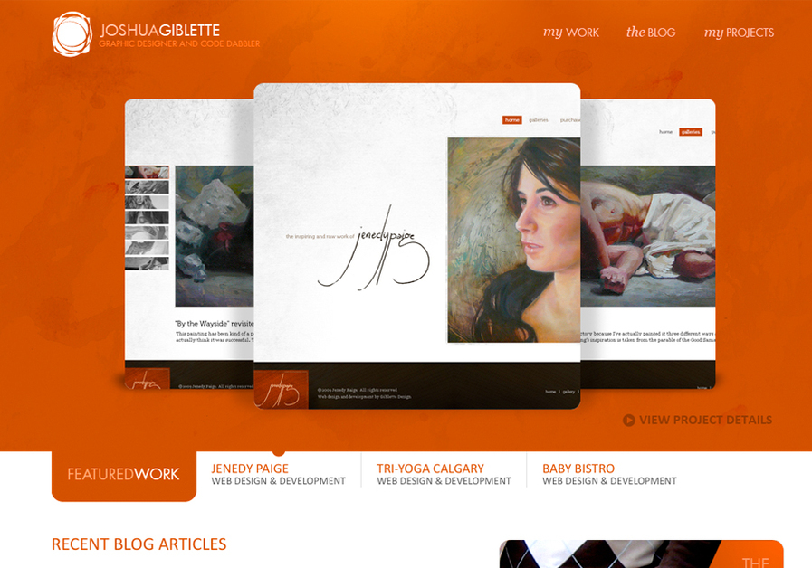 A great web design by Giblette Design, Denver, CO:
