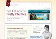 A great web design by Justin Delabar, Orlando, FL: