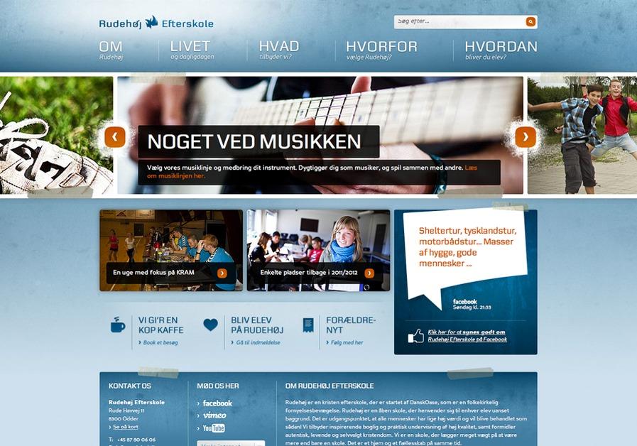A great web design by Silkjær, Vejle, Denmark: