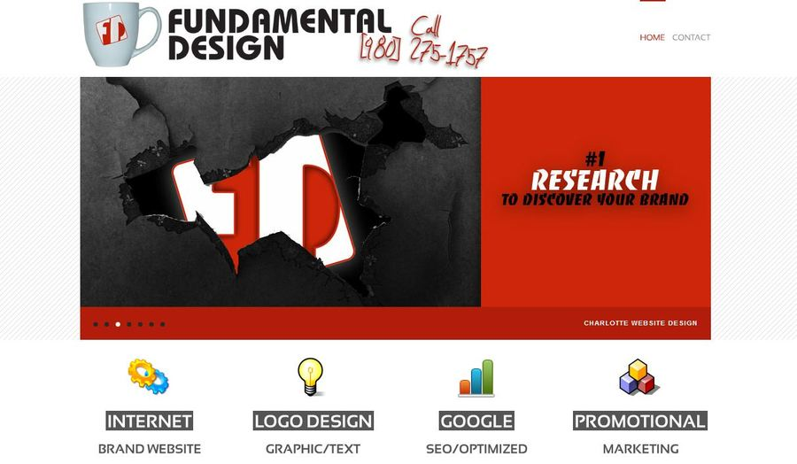 A great web design by FundamentalDesign.net, Charlotte, NC: