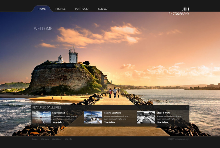 A great web design by Actualise Design, Sydney, Australia: