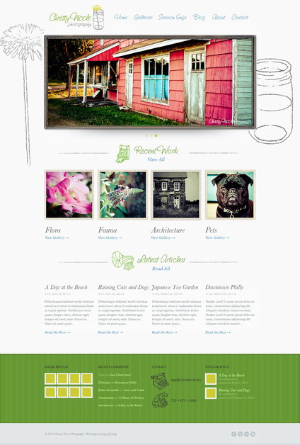 A great web design by Color & Code, New York, NY: