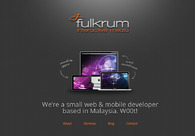 A great web design by Fulkrum Interactive Media, Petaling Jaya, Malaysia: