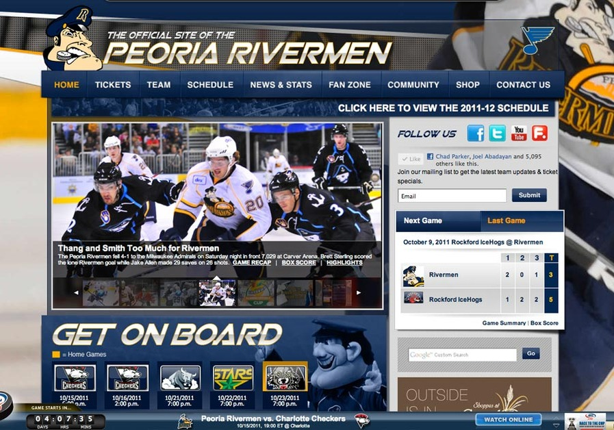 A great web design by Cybernautic Web Design, Peoria, IL:
