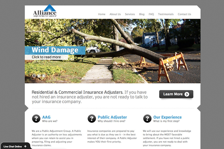 A great web design by Zohf Design, Inc., Philadelphia, PA: