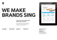 A great web design by YIU studio:
