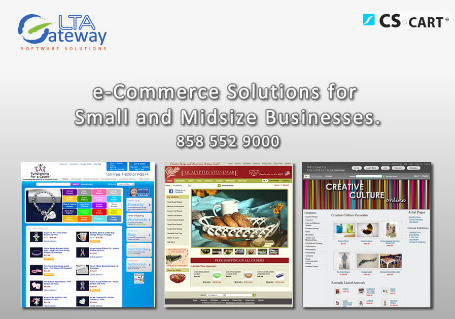 A great web design by LTAGateway , San Diego, CA: