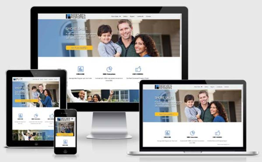 A great web design by JellyNeck Solutions, Inc, Chicago, IL: Responsive Website, Marketing Website , Real Estate , PHP