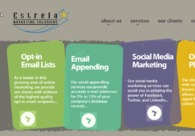 A great web design by Estrela Marketing Solutions, West Palm Beach, FL: