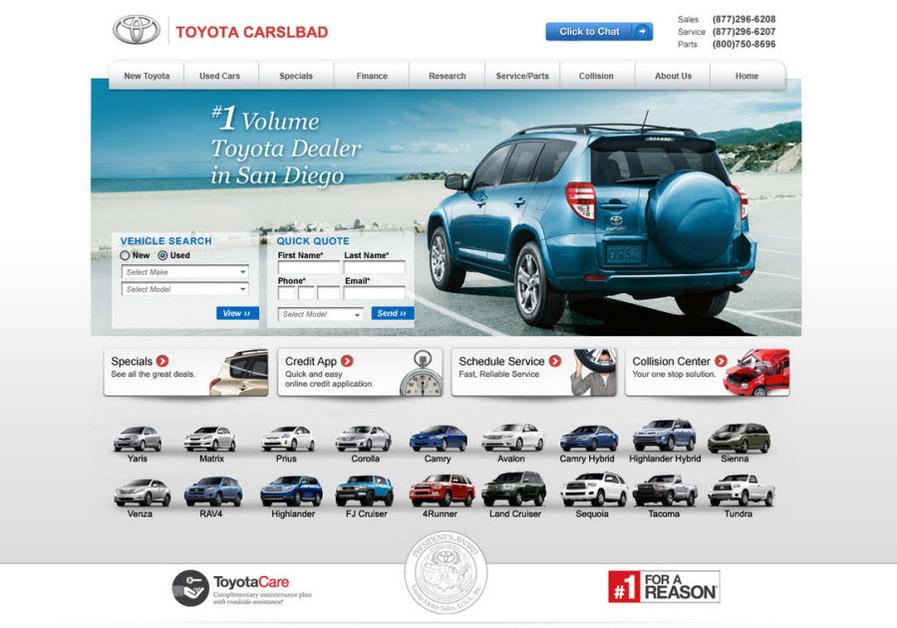 A great web design by JAZEL auto, Los Angeles, CA: