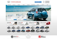 A great web design by JAZEL auto, Los Angeles, CA: