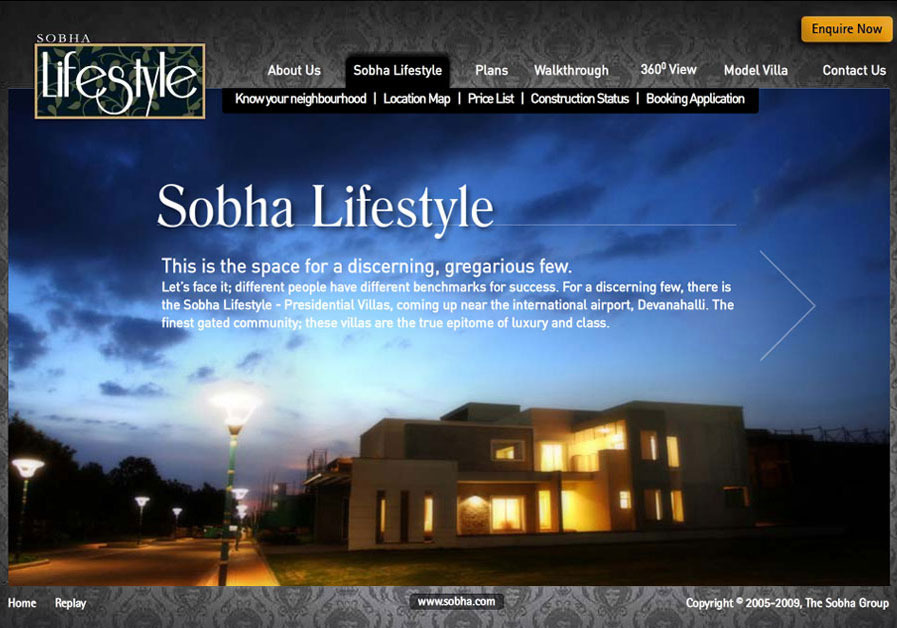 A great web design by Unplugged India, Bangalore, India:
