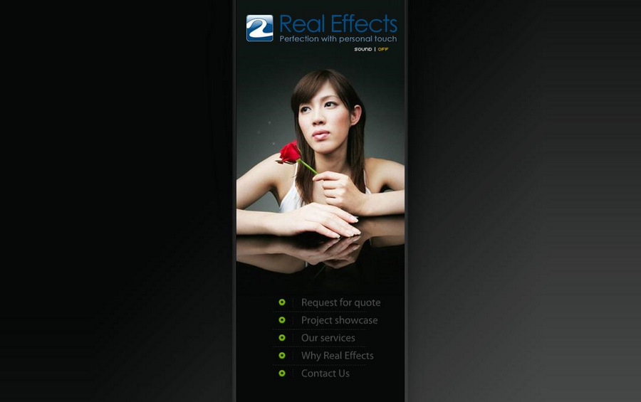 A great web design by Real Effects, Fort Lauderdale, FL: