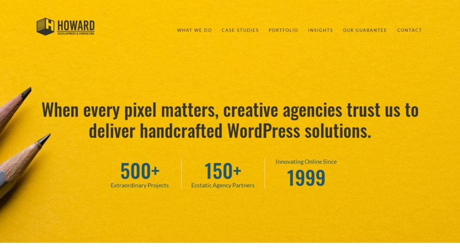 A great web design by Howard Development & Consulting, Denver, CO: