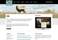 A great web design by No Sleep For Sheep, Nashville, TN: