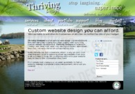 A great web design by Thriving Designs, New York, NY: