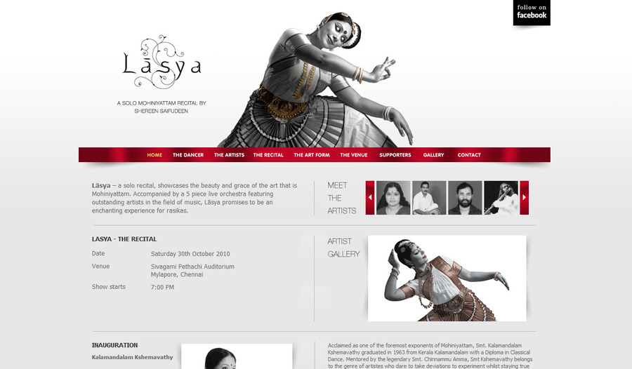 A great web design by Sajeesh Kumar, Dubai, United Arab Emirates: