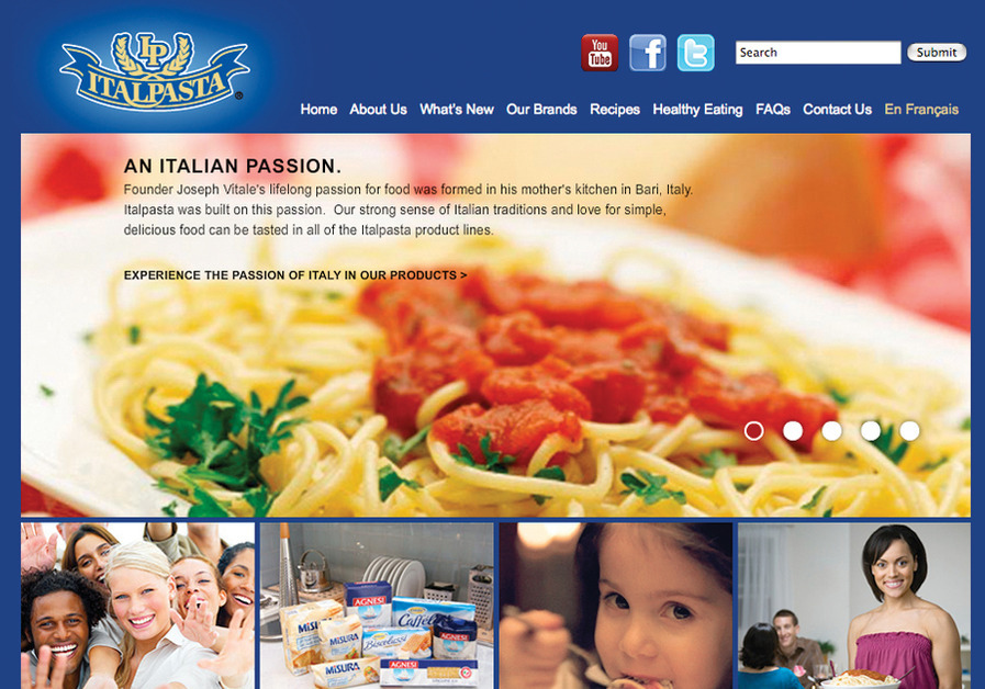 A great web design by INSPIRE, Toronto, Canada: