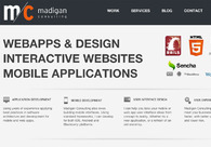 A great web design by Madigan Consulting, Sault Ste Marie, Canada: