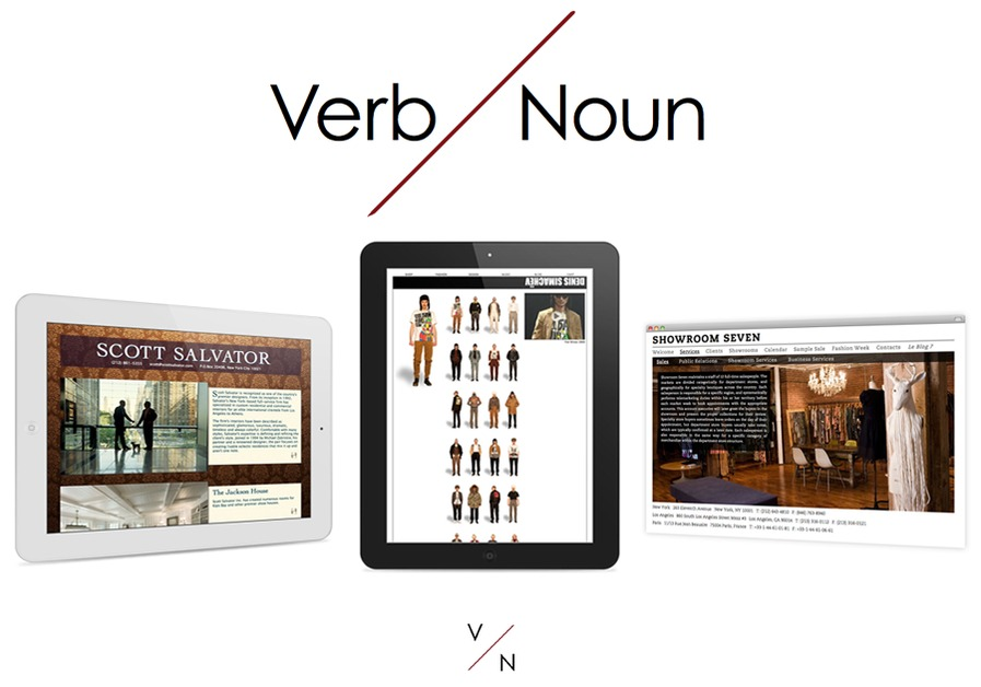 A great web design by Verb Noun, New York, NY: